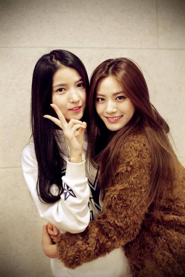 GFRIEND - SoWon #소원 (Kim SoJung #김소정) & AFTER SCHOOL Nana (Im JinAh)