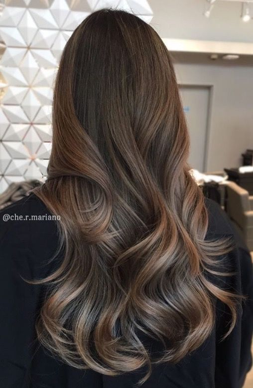 Light Ash Brown Hair With Babylights