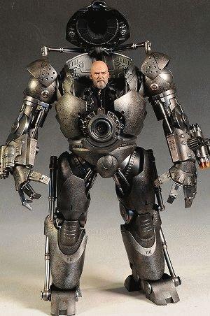 Hot Toys Iron Monger : monger, Borgs