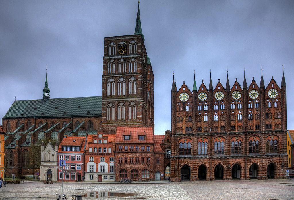 Stralsund marketplace