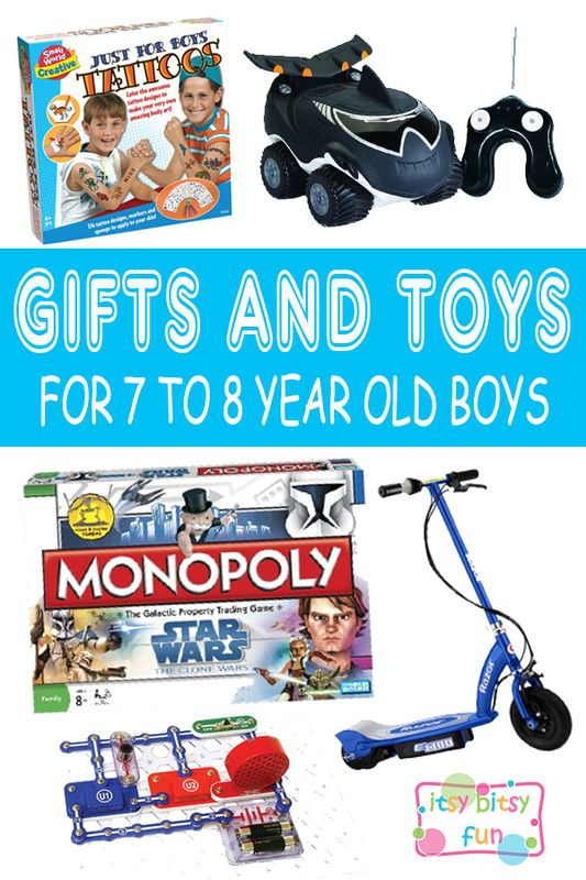 Best Gifts For 7 Year Old Boys Lots Of Ideas 7th Birthday Christmas And To 8 Olds