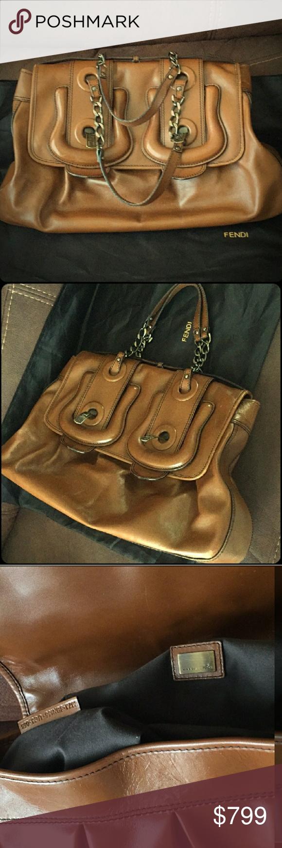 c9987d3fa2c5 XL FENDI NAPPA B buckle bag vernice calfskin The iconic Fenfi B bag in  jumbo size Nappa Vernice calfskin beautiful camel tan color absolutely  GORGEOUS!