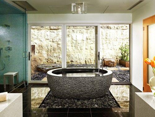 contemporary bathroom by Winn Wittman Architecture