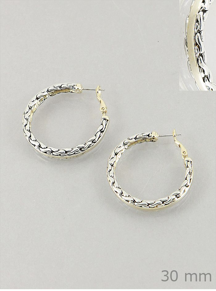 David Yurman Inspired Cable Hoop Earrings 8 00 Pinkereciation