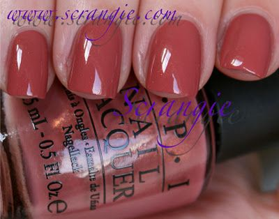 """OPI Holland for Spring/Summmer 2012: Gouda Gouda Two Shoes. I <3 """"dusty rose"""" everything. Love Love Love this neutral/nude/pinky color!"""