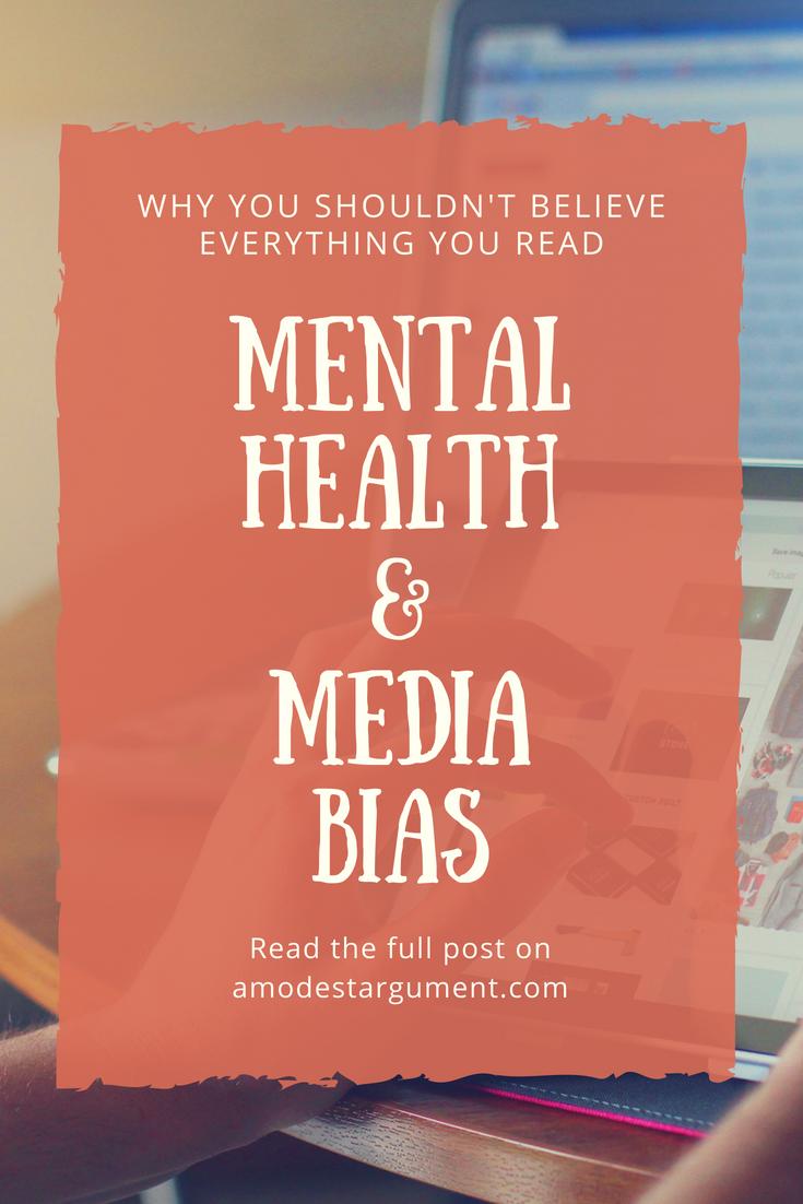 Mental Health And Media Bias Mental Illness Stigma Mental Health