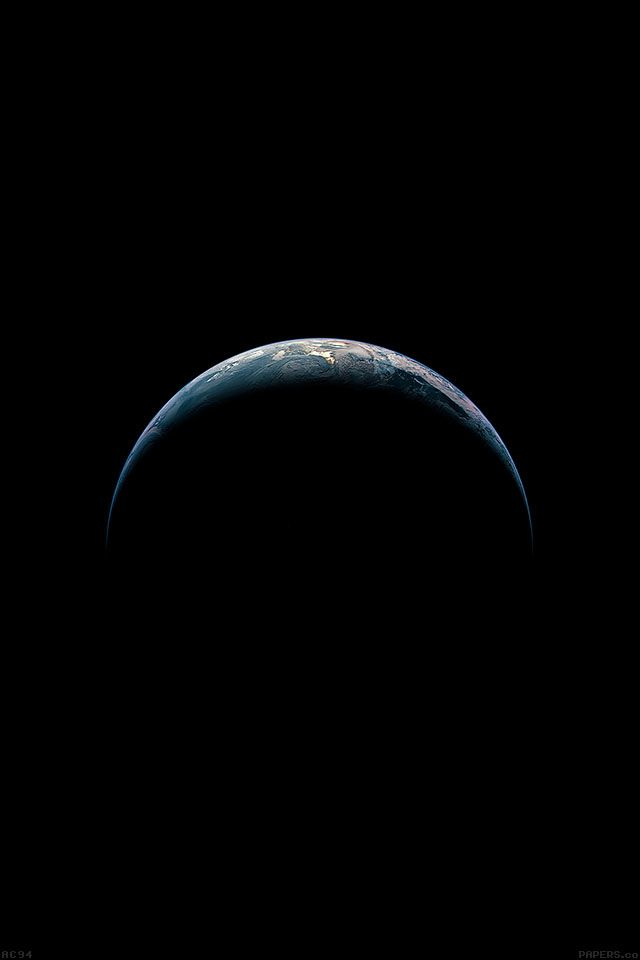 Ac94 Wallpaper Ios8 Apple Iphone6 Plus Earth From Sky Parallax