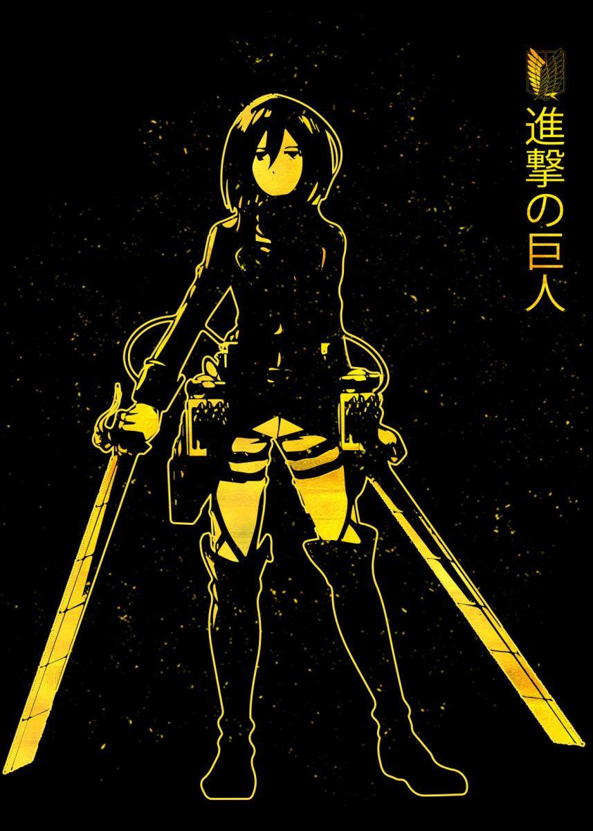 Gold Poster-Displate