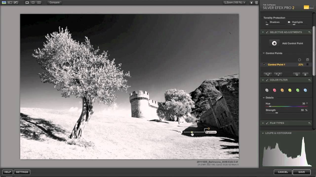 Photography tutorial black and white conversion using niks silver efex pro 2