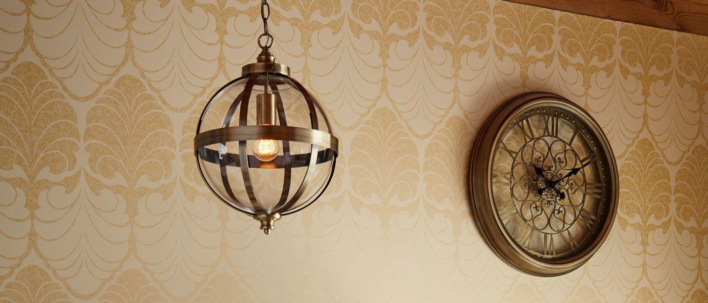 Odiham antique brass sphere pendant light laura ashley pendant odiham antique brass sphere pendant light aloadofball Gallery