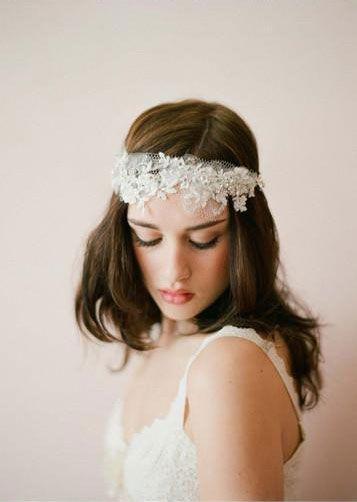 vintage wedding headpieces