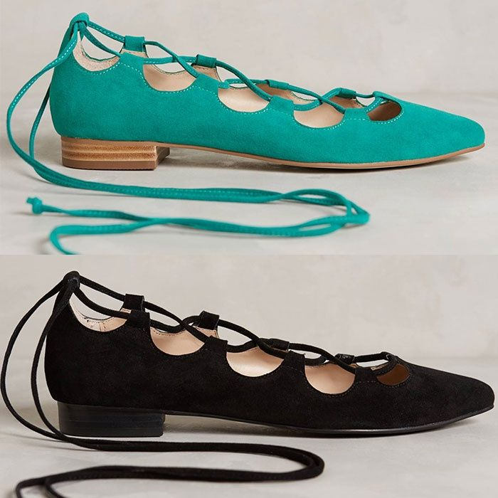 8bad5980dcae Rank   Style - Billy Ella Lace-Up Flats  rankandstyle