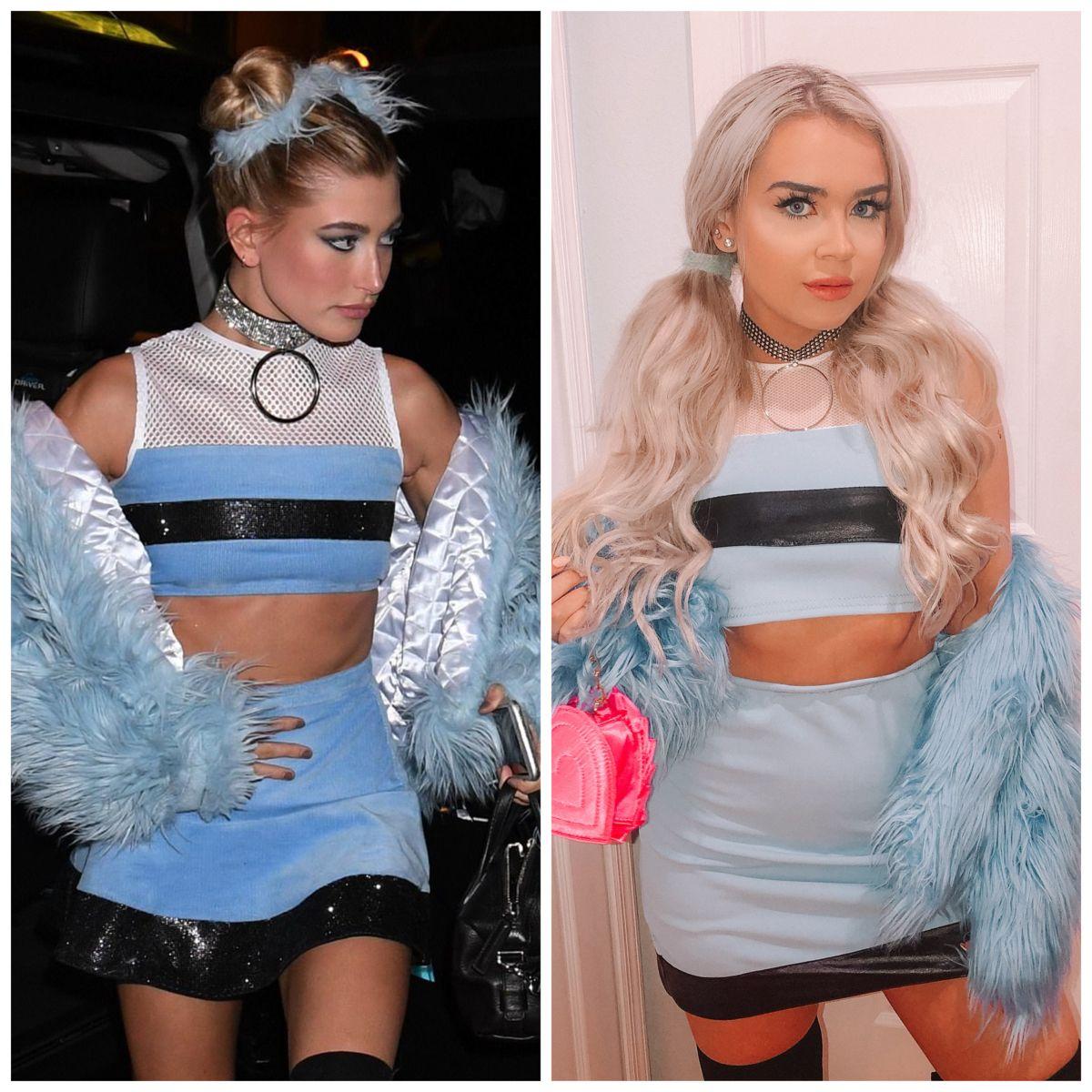 Hailey Baldwin Bubbles Costume in 2020 Powerpuff girls