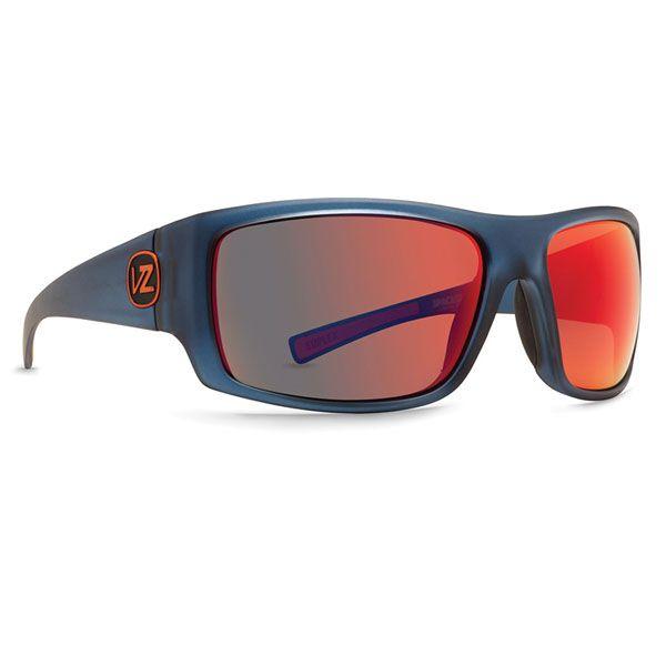 VonZipper Suplex Sunglasses - Spaceglaze - Navy/Galactic Glo Lens (SMSFTSUP-NVY) - Extreme Supply