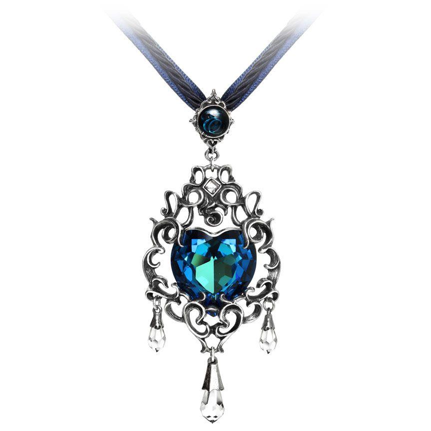 Alchemy Gothic Empress Eugenies Blue Heart Diamond