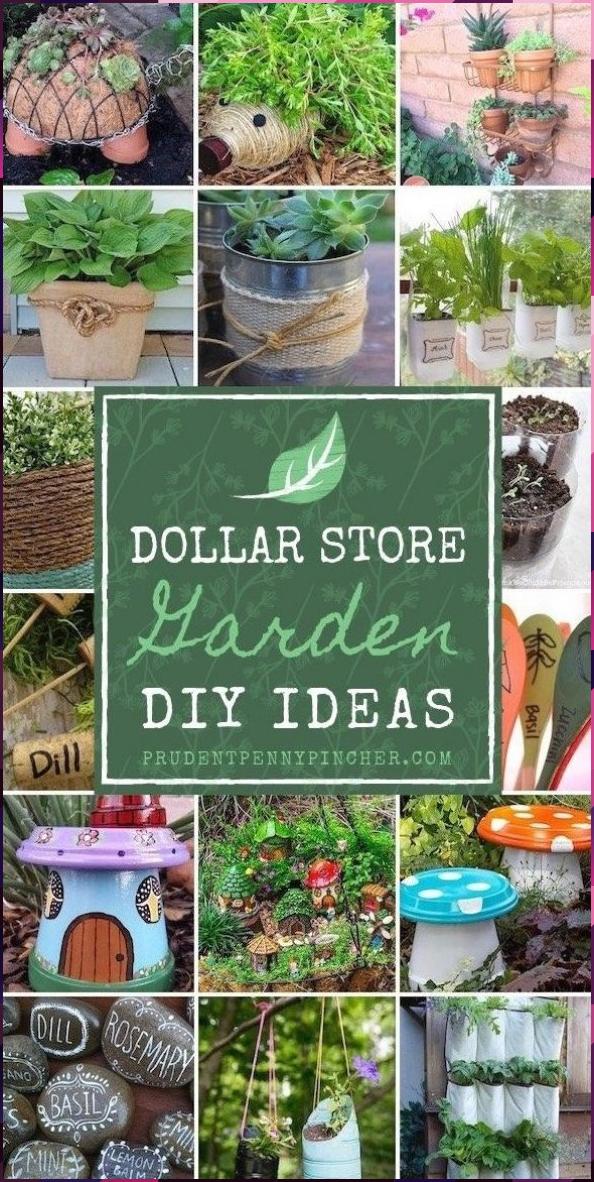 Photo of 100 Dollar Store Garden DIY Ideas #DIY #Dollar #Dream Garden #English Garden #Ga…