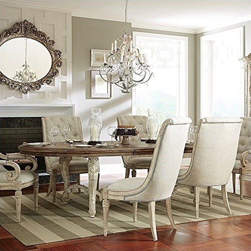 American Drew Jessica McClintock The Boutique Oval Dining Table in ...