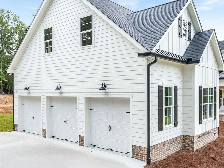 3 car garage ideas in 2020 modern farmhouse painted