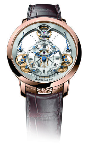 Arnold & Son Time Pyramid Wristwatch http://app.watchthestory.co