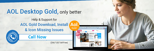 To get technical assistance for AOL desktop gold for solve