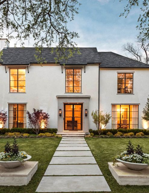 Purdue Perfection Transitional Exterior Dallas By Robert