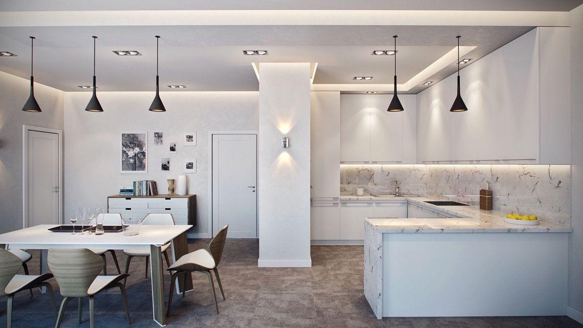 36 Marvellous Marble Kitchens That Spell Luxury   Cozinhas ...