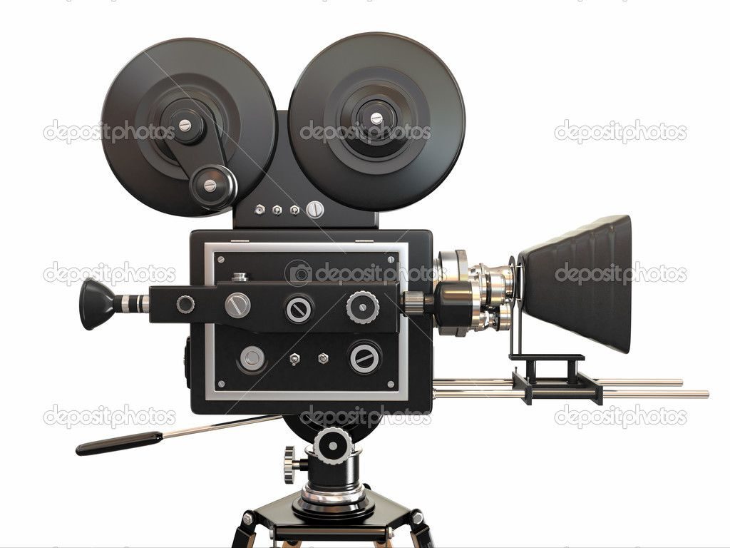 Vintage movie camera.-3d | cameras | Pinterest | Movies, Vintage ...