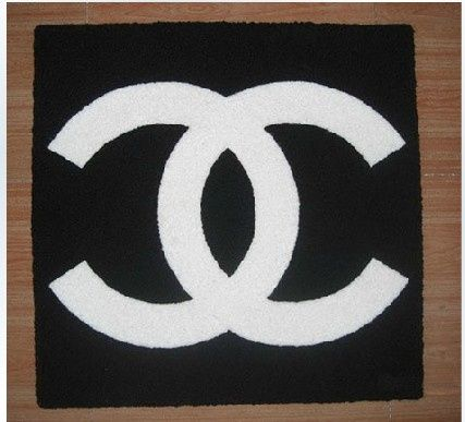 Chanel Inspired Rug Uniquely Modern Rugs