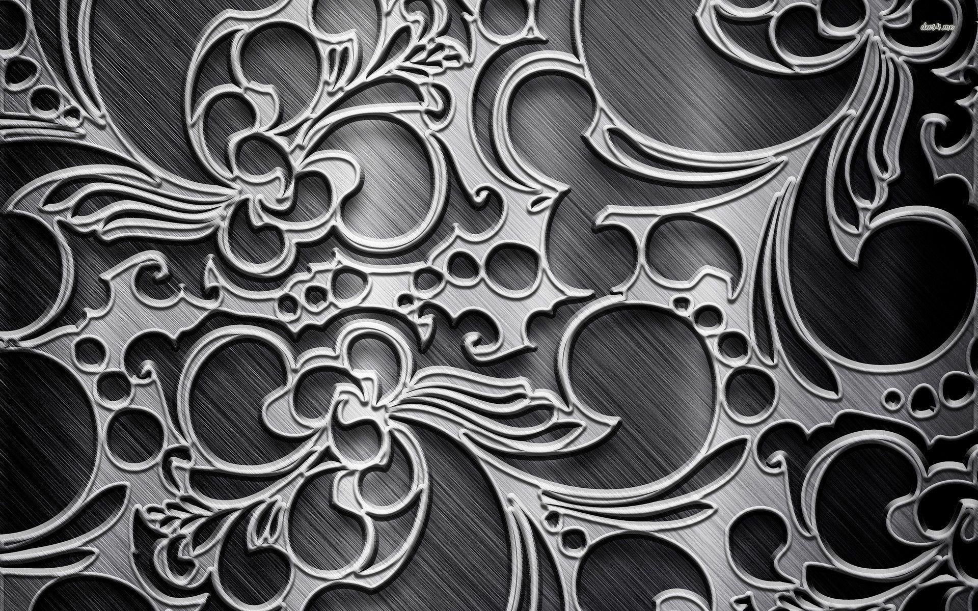Metal Engraving Wallpaper Metal Engraving Design Metal Engraving Abstract Wallpaper