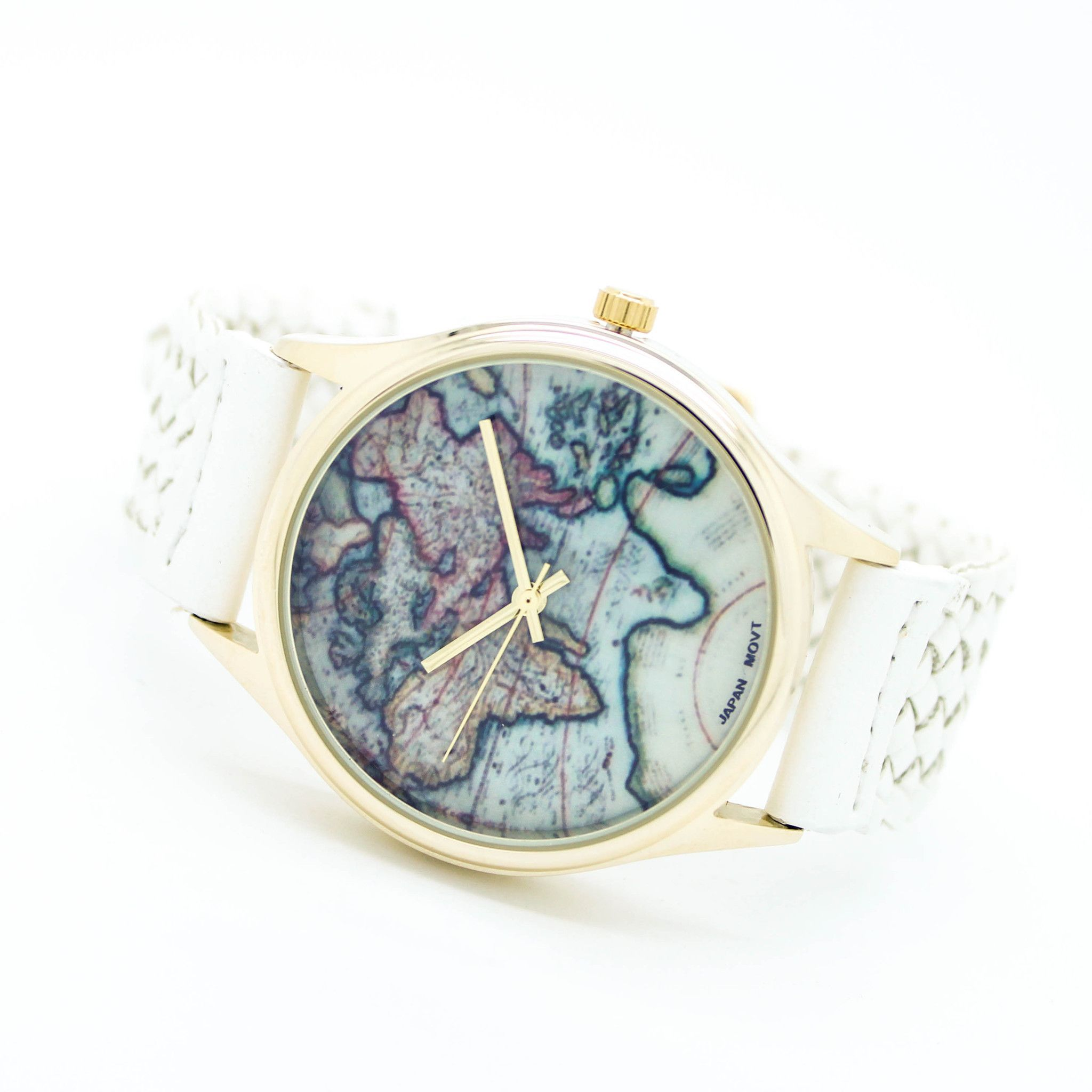 World map watch 5 colors map watch stainless steel and steel world map watch 5 colors gumiabroncs