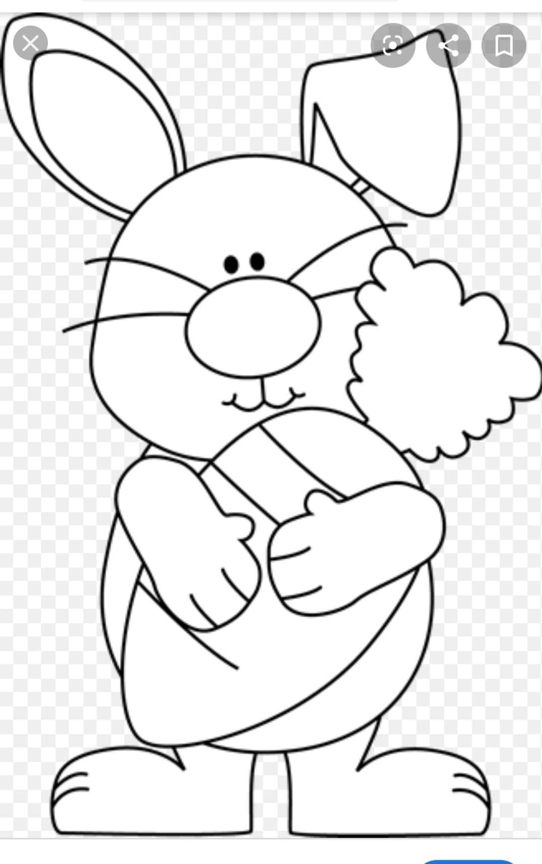 Pin By Orly Yosevzon On Patterns Bunny Coloring Pages Easter Bunny Colouring Easter Coloring Sheets