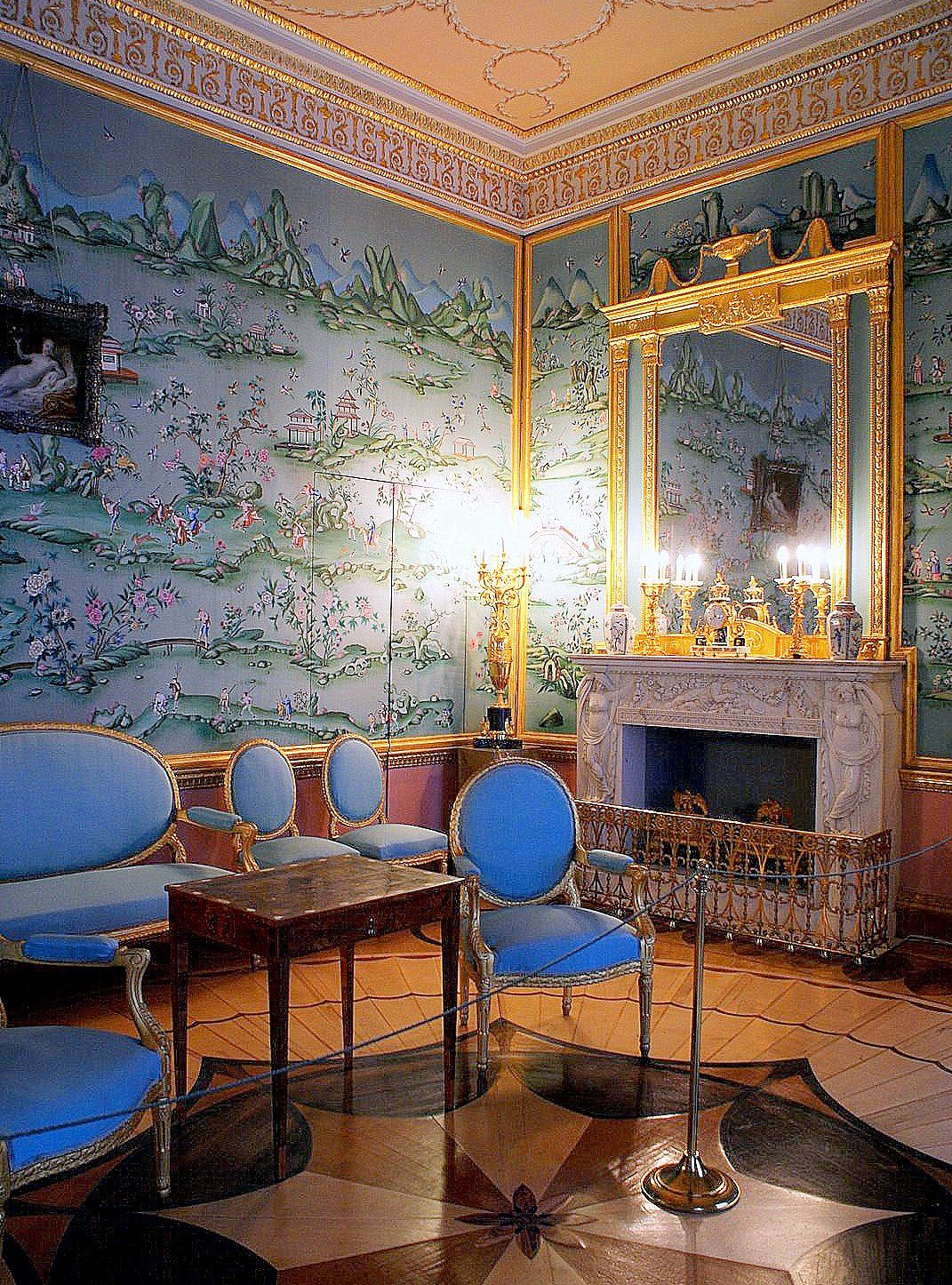 Salon Chinois Salon Bleu Chinois 25 Palais Catherine Tsarskoie