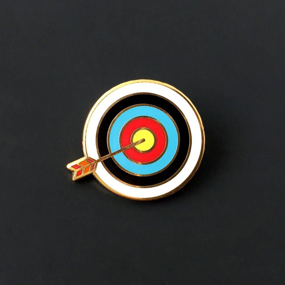 c59d3122a63 Target Pin   Lapel Pins   Jacket pins, Lapel Pins, Metal pins