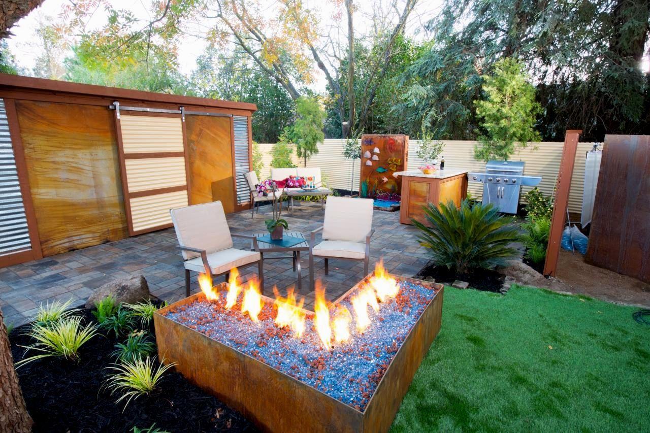 L Shaped Backyard Landscaping Ideas