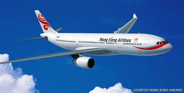 Hong Kong Airlines To Begin Scheduled