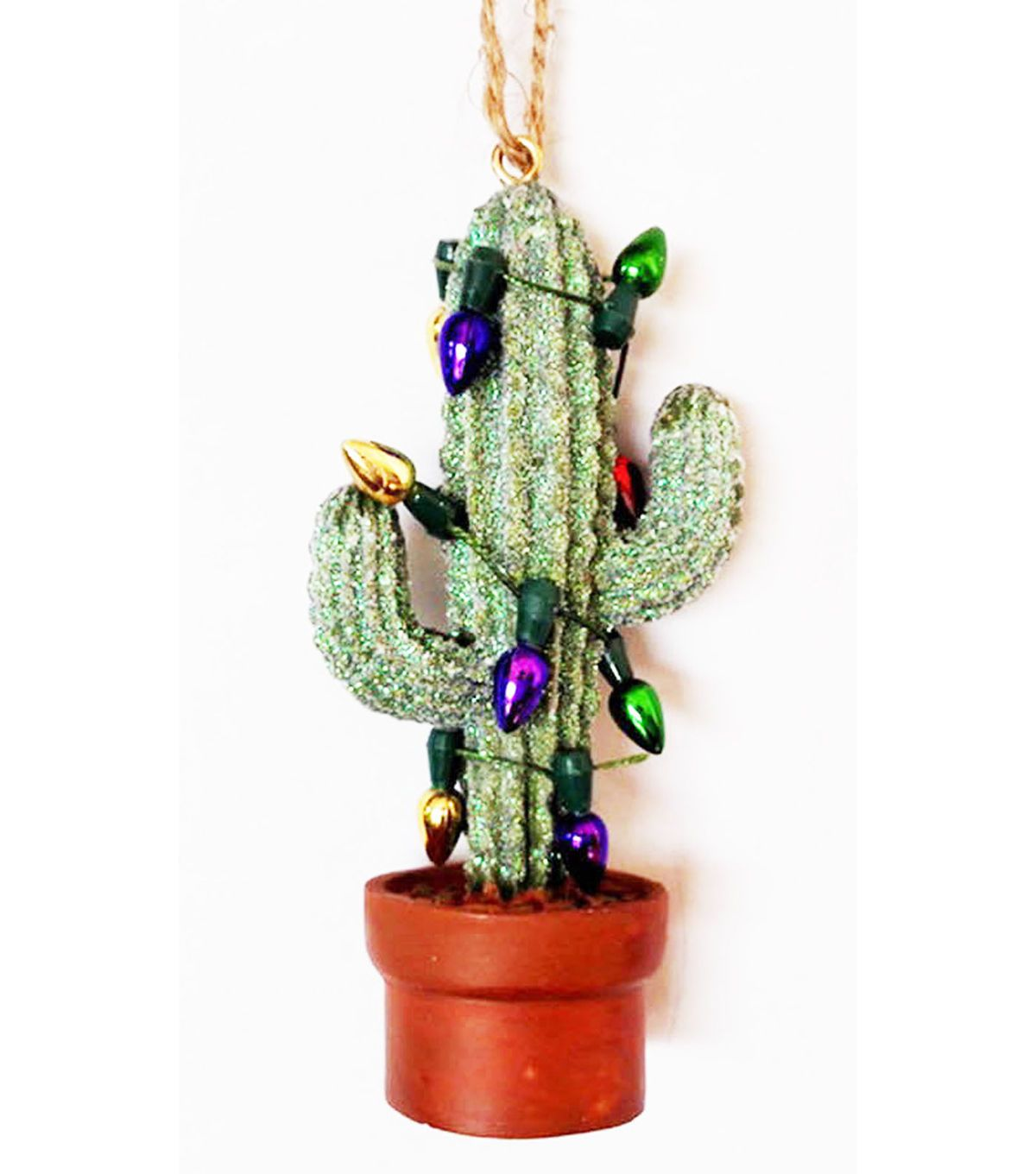 Maker's Holiday Cactus in Lights Ornament