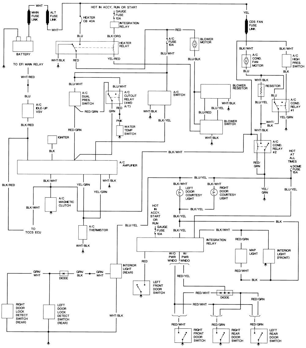 2000 Tundra Wiring Diagrams Free Download Wiring Diagram Schematic
