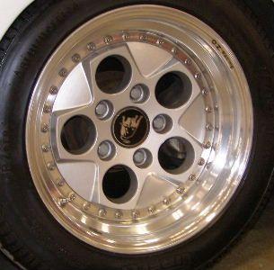 New Refinished Lamborghini Countach Wheels Rims Wheel Rims
