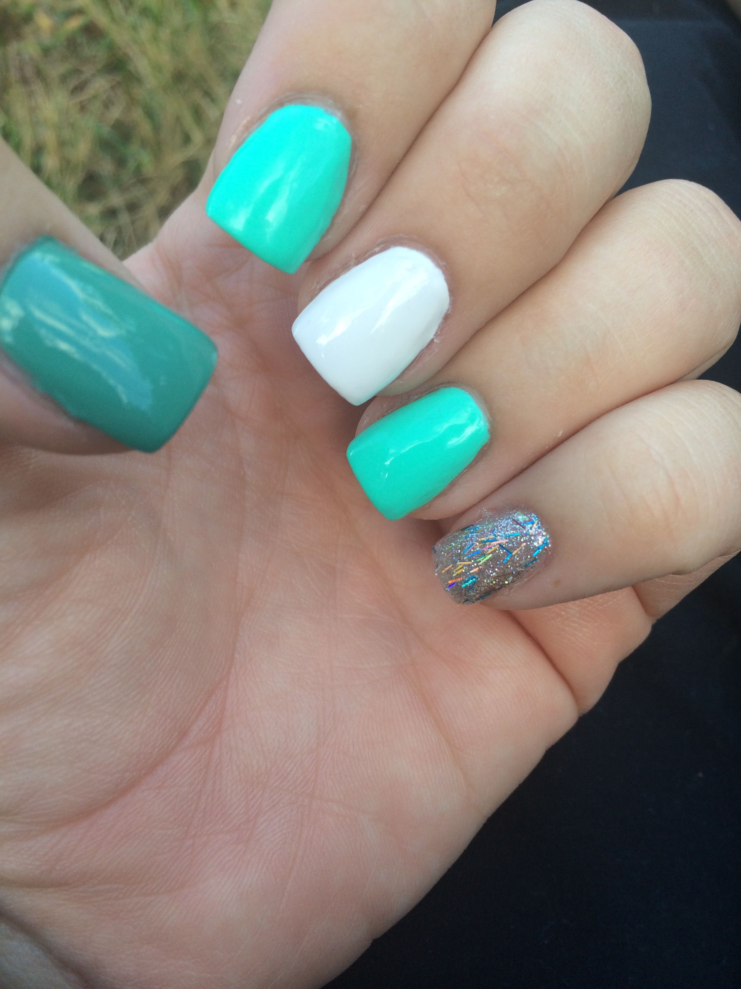 Blue Me Away - Swatch by @lylynails | Nail colors, Nails