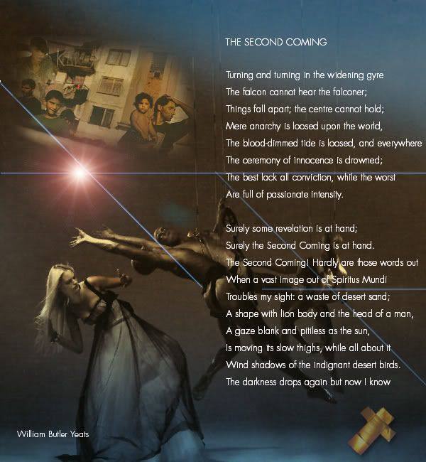 the second coming by william butler yeats w b yeats  the second coming by william butler yeats