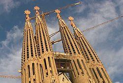 Torres de la Sagrada Família