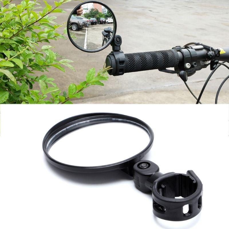 1pc Cycling Bike Bicycle Handlebar Flexible Safe 360° Rearview Rear View Mirrors
