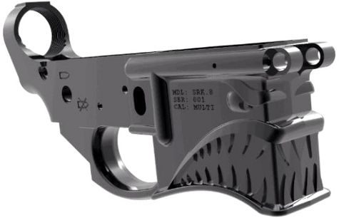 Unique 'Hellbreaker' AR lower receiver Indiegogo project