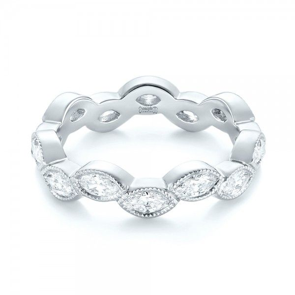 custom eternity diamond wedding band joseph jewelry bellevue seattle online design