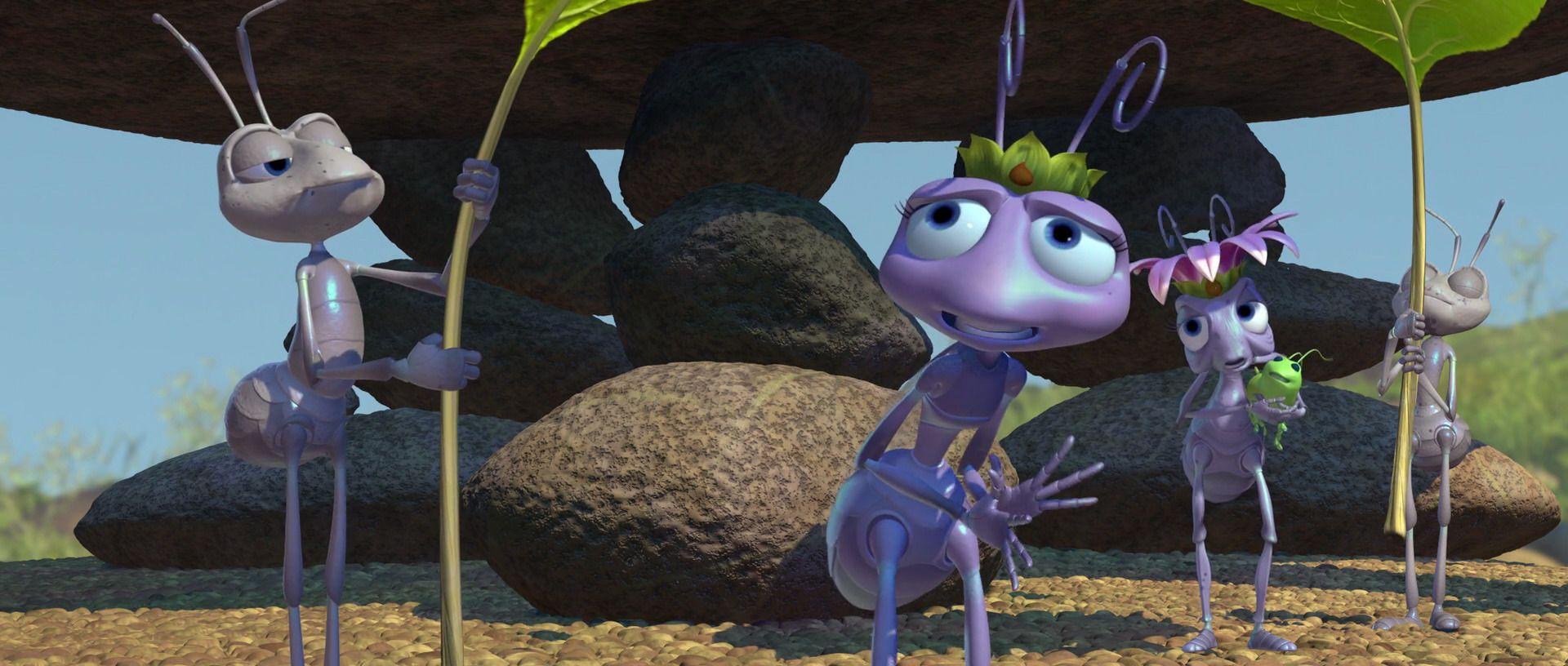 A Bug S Life 1998 Disney Screencaps A Bug S Life Disney Bugs