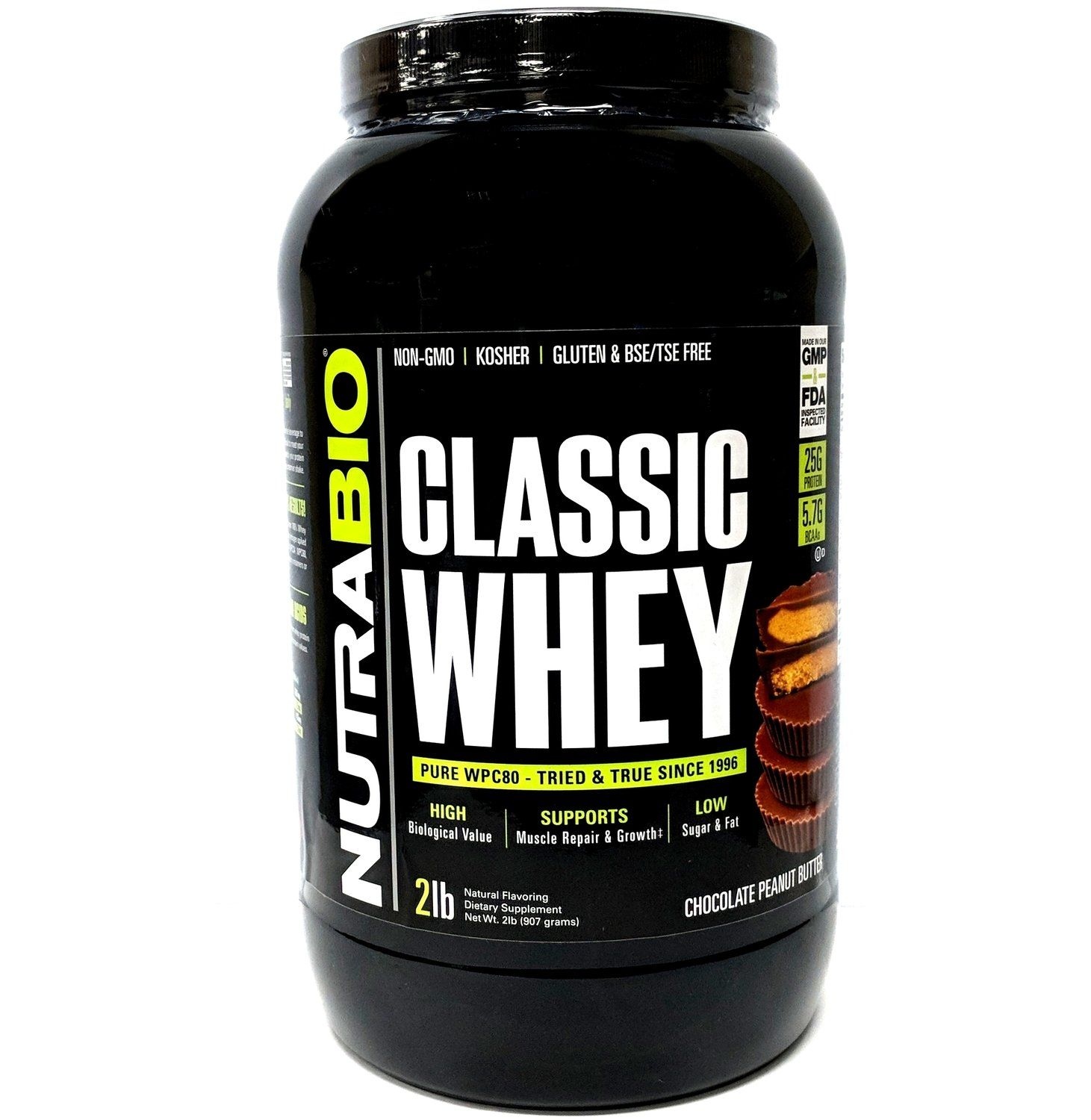 Nutrabio Classic Whey Protein Chocolate Peanut Butter 32 99