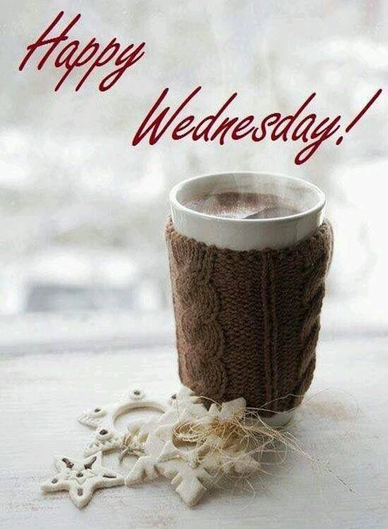 Happy Wednesday Winter Coffee Hot Chocolate Winter