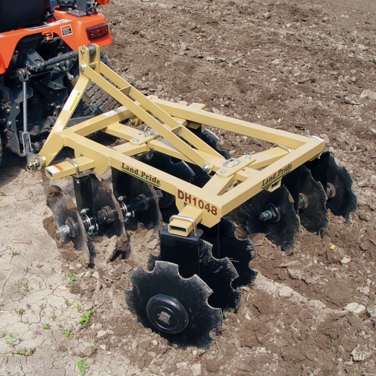 Dh10 series disc harrows homemade tractor food plots