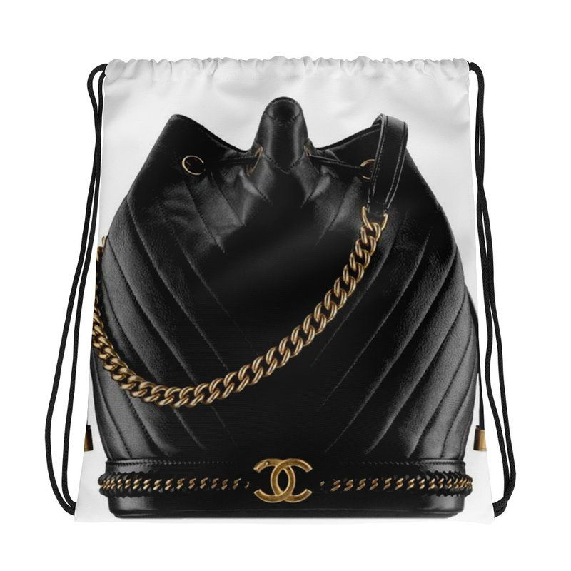 buying cheap a few days away clearance Designer Inspired CHANEL Drawstring Bag,Backpack, Laptop Bag ...