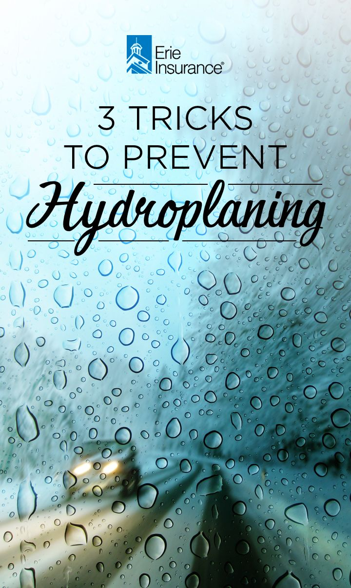 How Can I Prevent My Car From Hydroplaning Erie Insurance